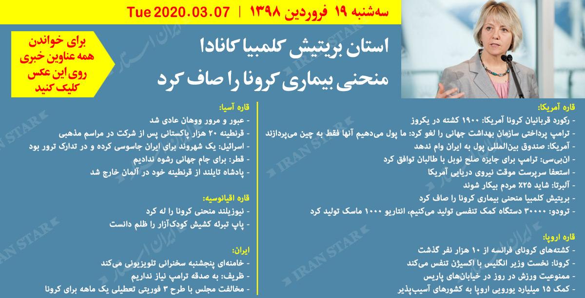 روز-07-04-2020-اخبار-کامل-جهان-ایرانیان-کانادا