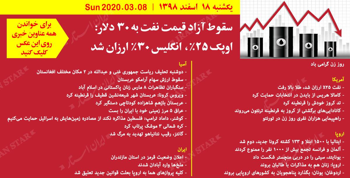 روز-08-03-2020-اخبار-کامل-جهان-ایرانیان-کانادا