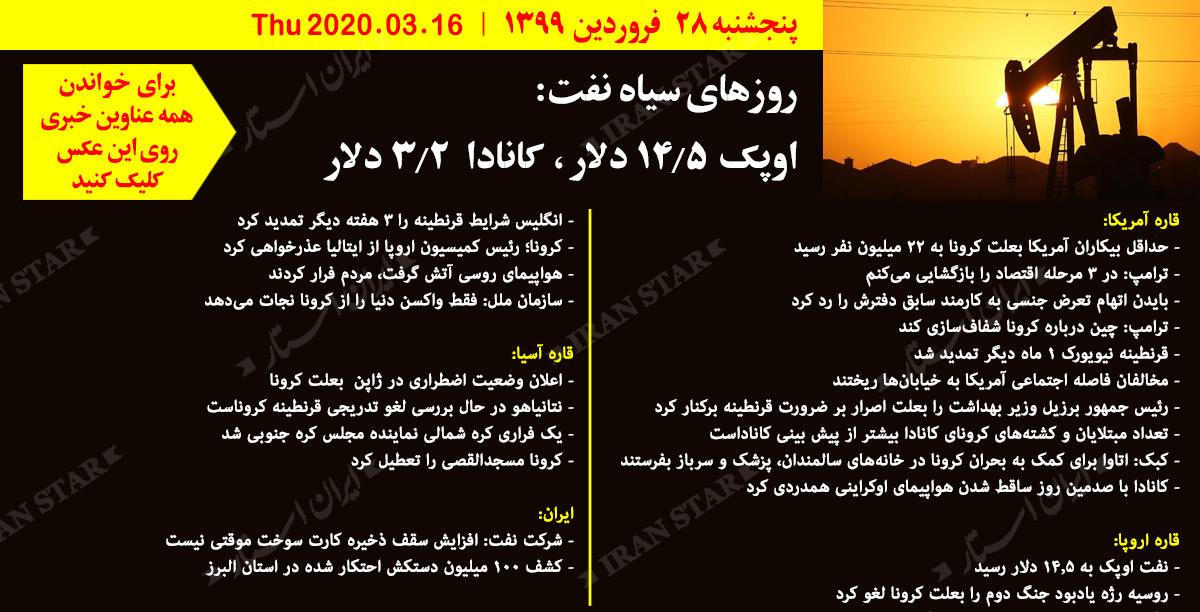 روز-16-04-2020-اخبار-کامل-جهان-ایرانیان-کانادا