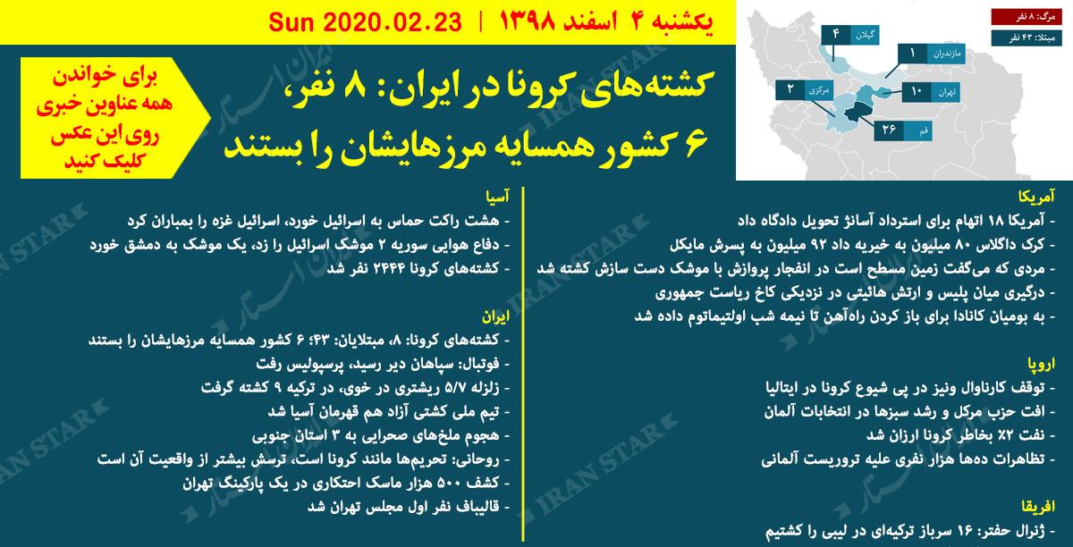 روز-23-02-2020-اخبار-کامل-جهان-ایرانیان-کانادا