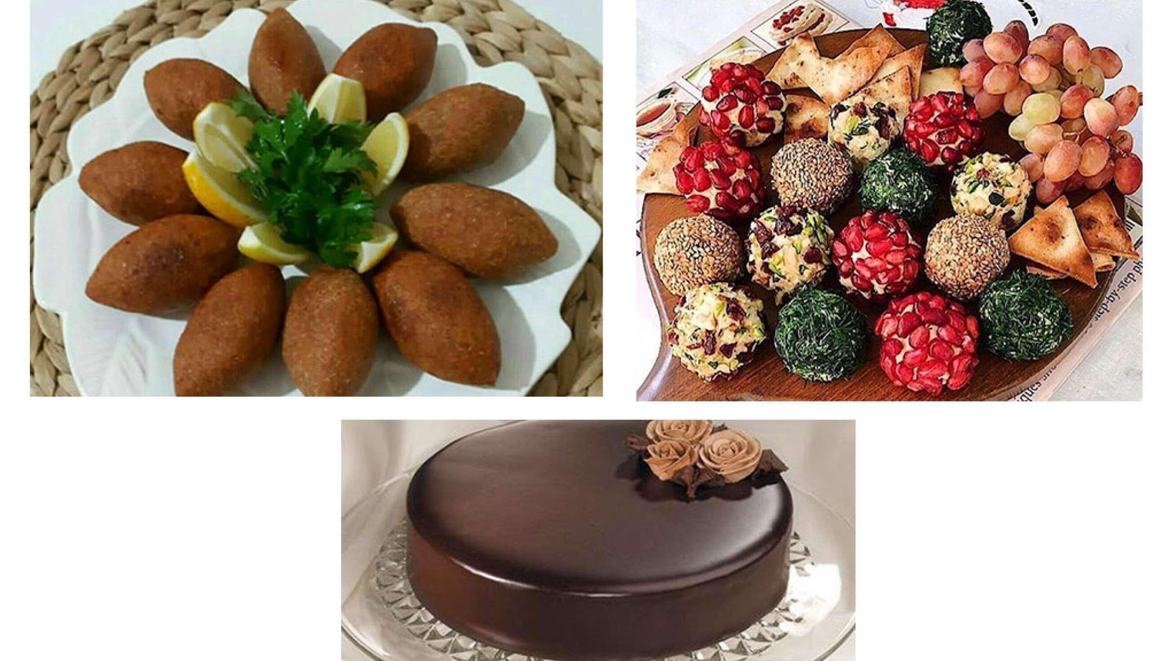 آشپزی-ترابی-ترافل-سالاد-کوفته-ایشلی-ترکیه-گاناش