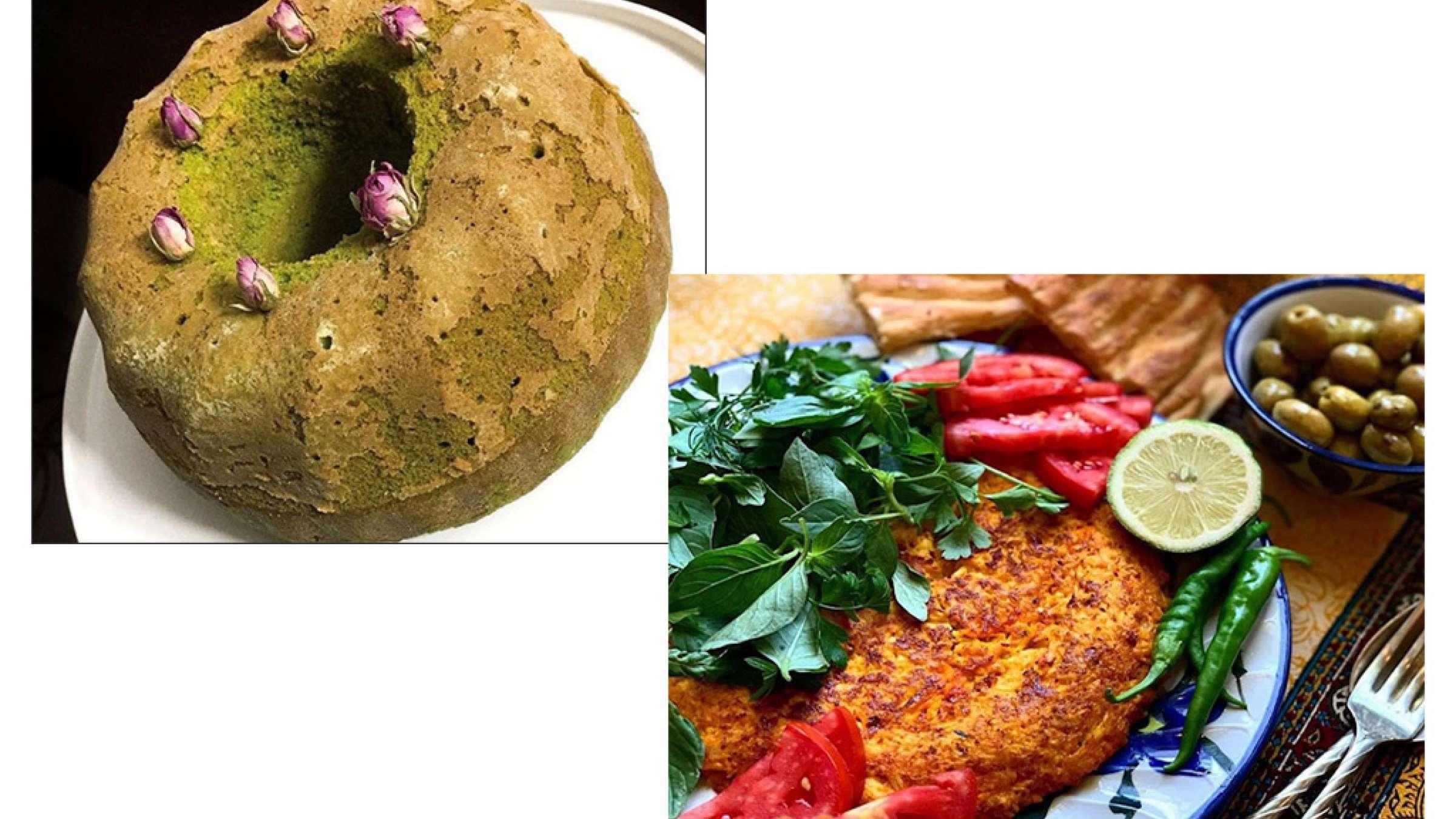 آشپزی-ترابی-کوکوی-قفقازی-کیک-اسفناج