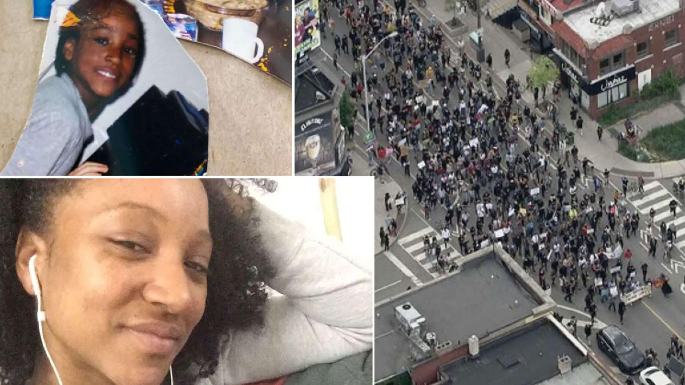 اخبار-تونتو-تظاهرات-هزاران-نفری-در-تورنتو-و-حضور-سنگین-پلیس
