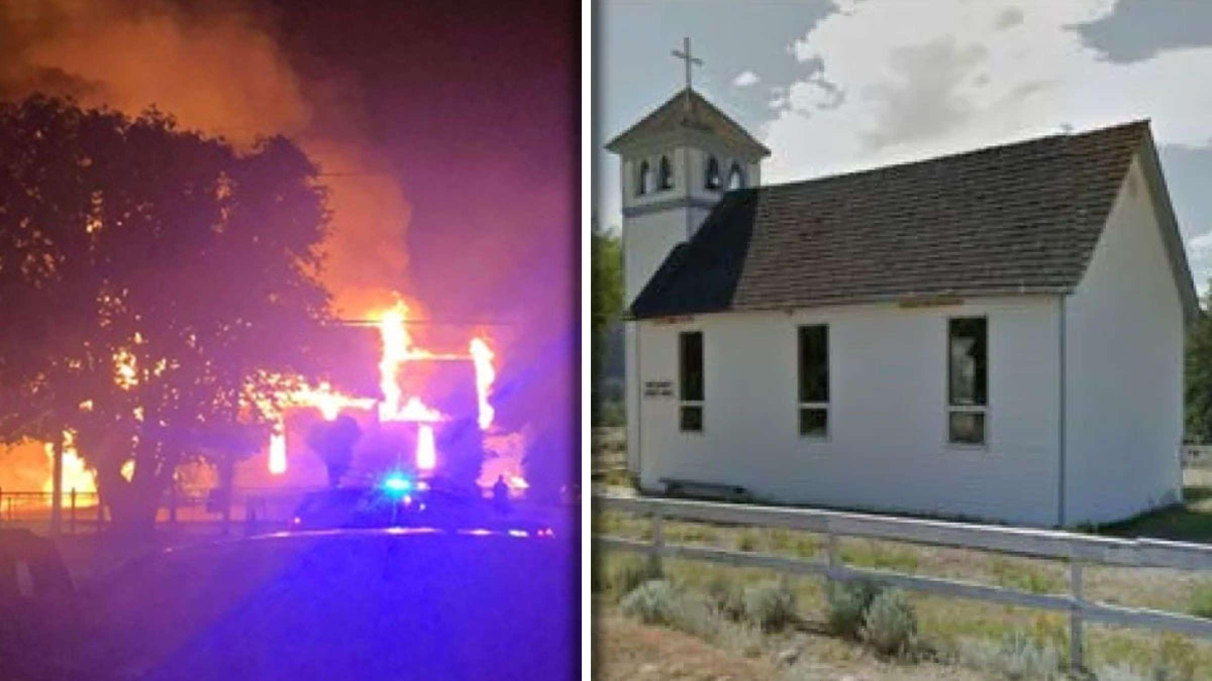 خبر-کانادا-دو-کلیسای-کاتولیک-در-شرق-ونکوور-به-آتش-کشیده-شدند
