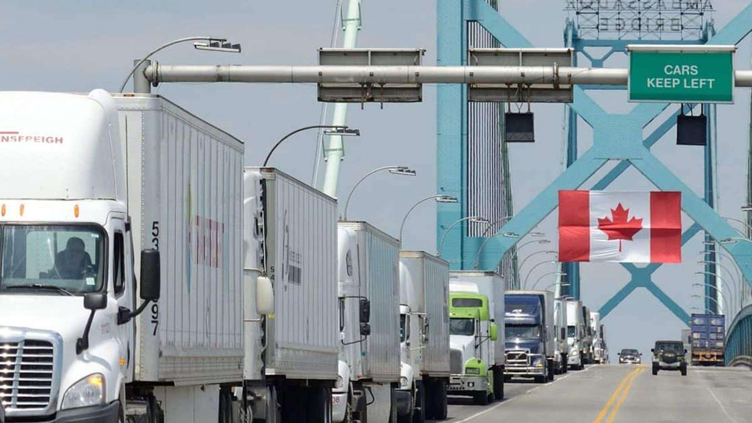 خبر-کانادا-کارمندان-مرزی-با-اعتصاب-مایحتاج-را-بستند-یکروزه-دولت-توافق-رسیدند-مرزها-باز-شدند