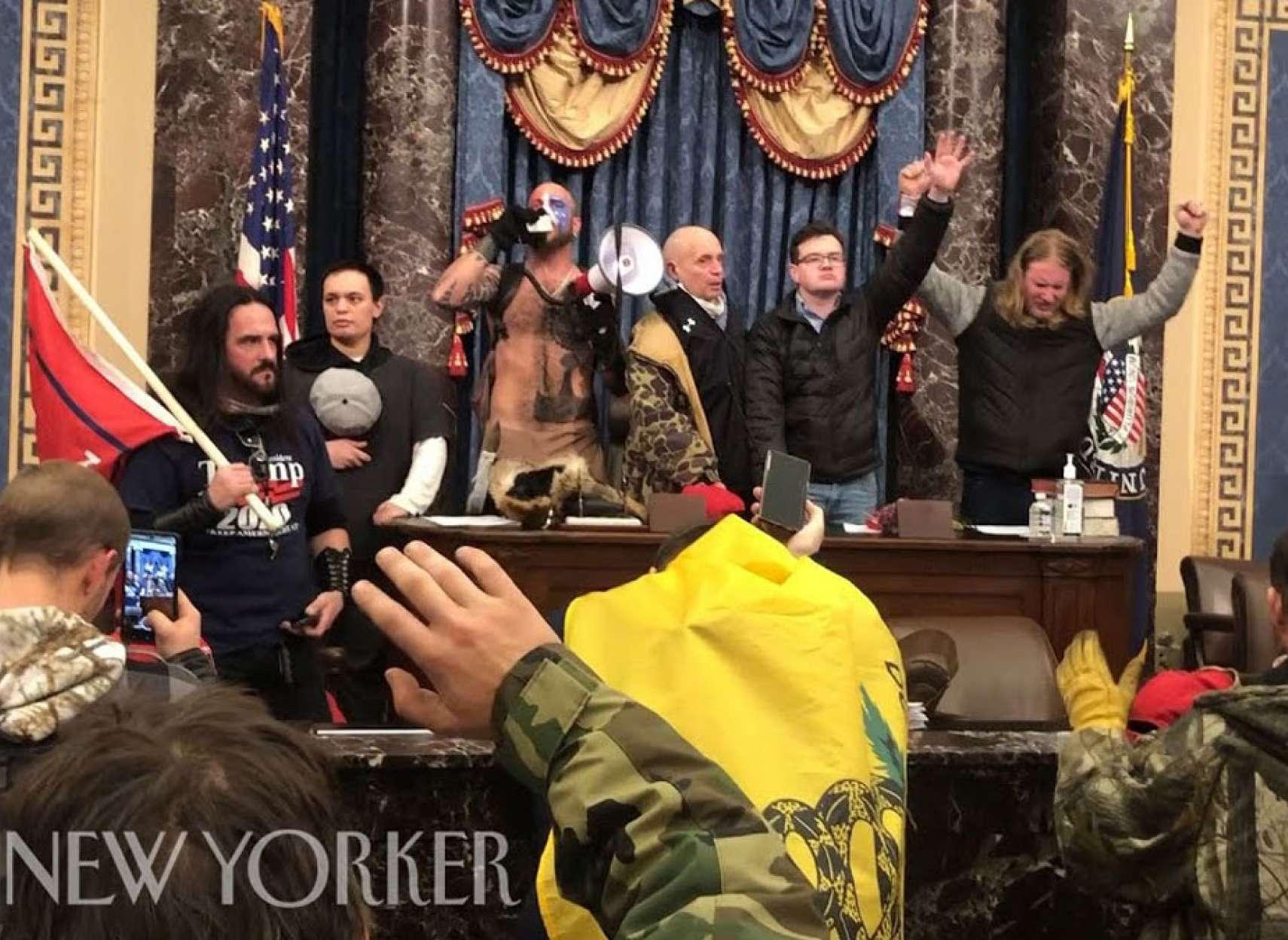 اخبار-آمریکا-فیلم-اشغال-مجلس-آمریکا-توسط-خبرنگار-نیویورکر-در-میان-معترضان-منتشر-شد