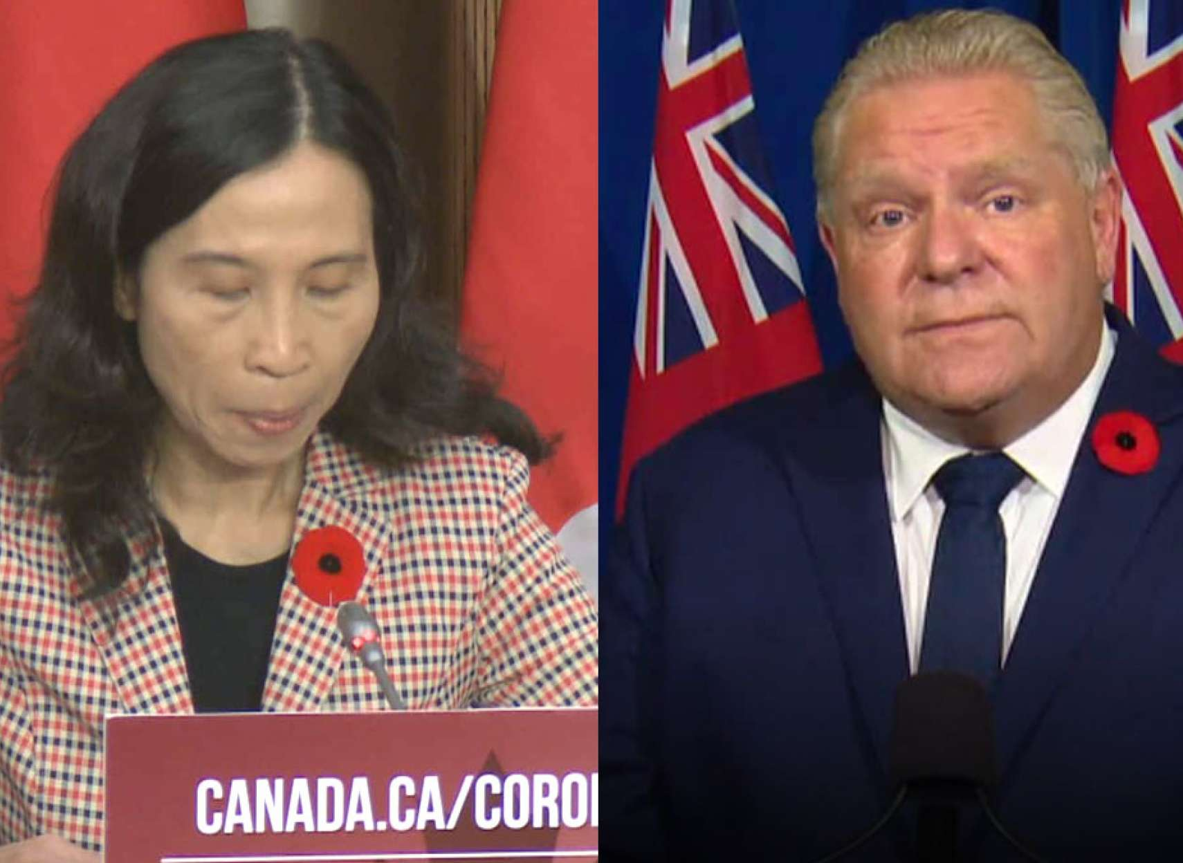 اخبار-تورنتو-تغییر-موضع-کانادا-ماسک-۳-لایه-بزنید-فورد-تورنتو-را-قرمز-و-دیگر-مناطق-را-باز-کرد