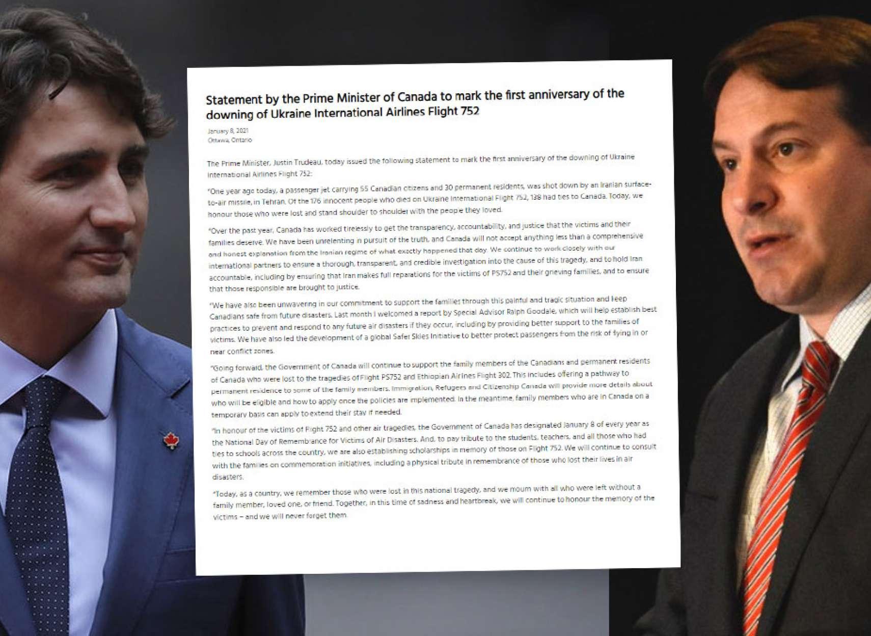 وزیر مهاجرت، پناهندگی و شهروندی: کانادا مسیر ویژه اقامتی را به برخی از بازماندگان پرواز اوکراینی اعطا میکند