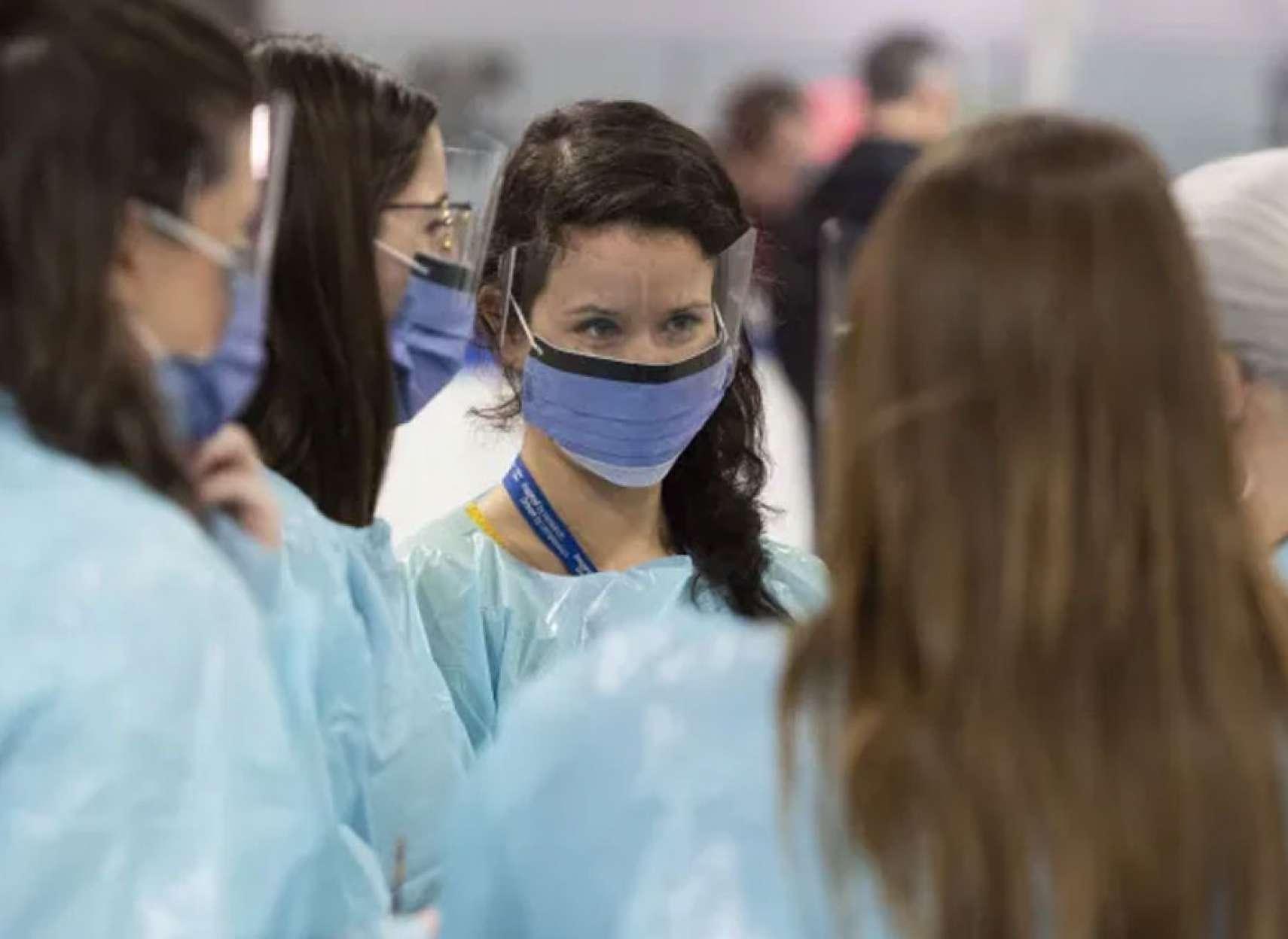 خبر-کانادا-تعلیق-و-قطع-حقوق-۱۷۲-کارمند-بیمارستان-ویندزور-انتاریو-واکسن-نزدن-۳۰۰۰-بهداشتی-فرانسه