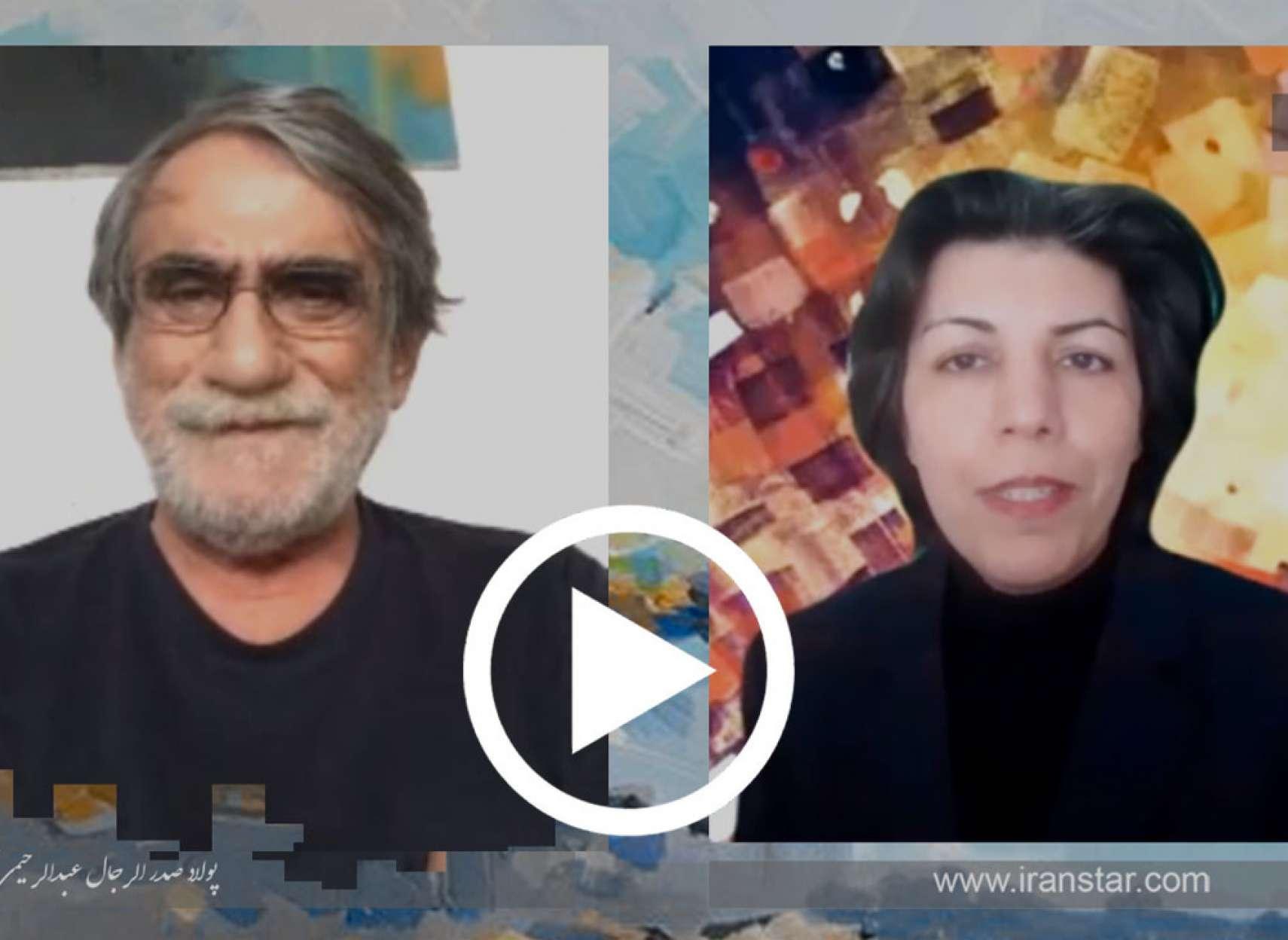 مصاحبه با پولاد صدرالرجال عبدالرحیمی، از شرکت در نمایشگاه های نقاشی تا صاحب سبک شدن