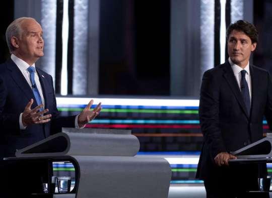 خبر-کانادا-مناظره-چهارشنبه-شب-ترودو-عصبانی-۱۳-درصد-مردم-نمی-دانند-به-چه-کسی-رای-می-دهند